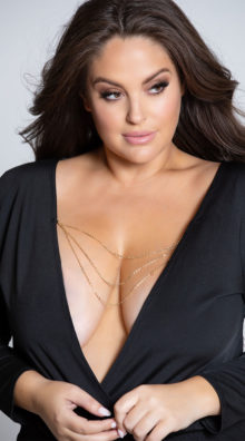 Photo of Plus Size Off The Chain Romper @EX4.NL Exclusive Lingerie