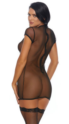 Photo of Shocking Micronet Chemise @EX4.NL Exclusive Lingerie