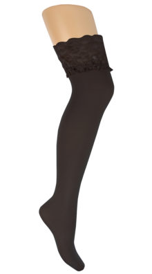 Photo of Plus Size Lace Stockings @EX4.NL Exclusive Lingerie