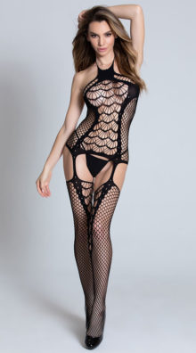Photo of Spider Web Fishnet Bodystocking @EX4.NL Exclusive Lingerie