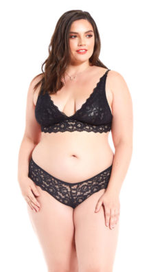 Photo of Plus Size Luck Of The Draw Lace Panty @EX4.NL Exclusive Lingerie