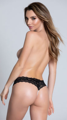 Photo of Cheeky Lace Pearl String G-String @EX4.NL Exclusive Lingerie