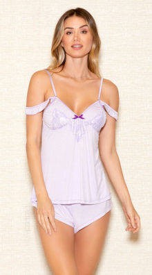 Photo of Lay With Me Lilac Cami Set @EX4.NL Exclusive Lingerie