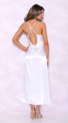 Photo of Wandering Heart Satin Gown @EX4.NL Exclusive Lingerie