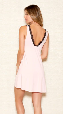 Photo of Lace Overlay Modal Chemise @EX4.NL Exclusive Lingerie