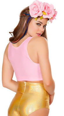 Photo of Basic Cropped Tank Top @EX4.NL Exclusive Lingerie