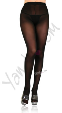 Photo of Plus Size Opaque Sheer Tights @EX4.NL Exclusive Lingerie
