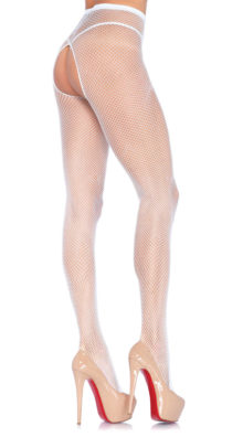 Photo of Fishnet Crotchless Pantyhose @EX4.NL Exclusive Lingerie