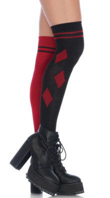 Photo of Harlequin Thigh High Stockings @EX4.NL Exclusive Lingerie