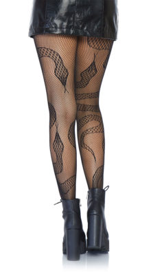 Photo of Snake Fishnet Tights @EX4.NL Exclusive Lingerie