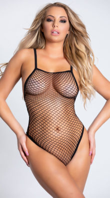Photo of Fishnet G-String Teddy @EX4.NL Exclusive Lingerie