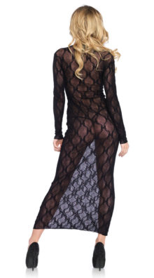 Photo of Bow Lace Long Sleeve Dress @EX4.NL Exclusive Lingerie