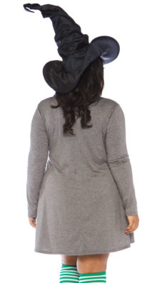 Photo of Plus Size Basic Witch Jersey Dress @EX4.NL Exclusive Lingerie