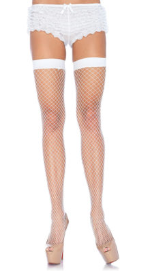 Photo of Lycra Industrial Fishnet Thigh Highs @EX4.NL Exclusive Lingerie