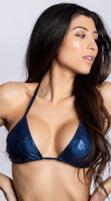 Photo of Basic Twinkling Triangle Top @EX4.NL Exclusive Lingerie