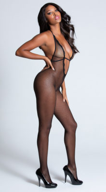 Photo of Lace Trim Bodystocking @EX4.NL Exclusive Lingerie