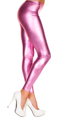 Photo of Shiny Footless Pantyhose Legging @EX4.NL Exclusive Lingerie