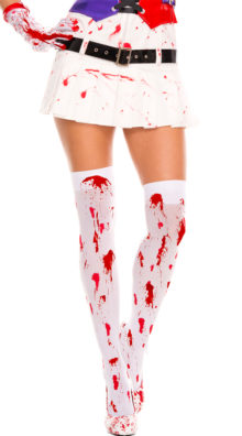 Photo of Bloody Thigh Highs @EX4.NL Exclusive Lingerie
