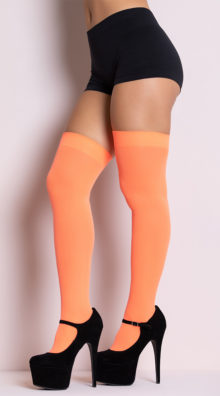 Photo of Opaque Thigh Highs @EX4.NL Exclusive Lingerie