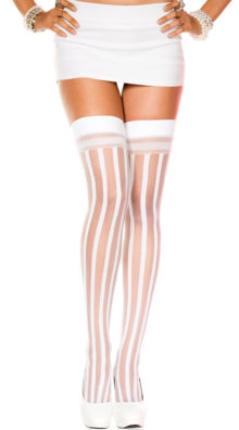 Photo of Sheer Stripes Thigh Highs @EX4.NL Exclusive Lingerie