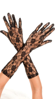 Photo of Long Lace Gloves @EX4.NL Exclusive Lingerie