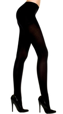 Photo of Plus Size Opaque Tights @EX4.NL Exclusive Lingerie