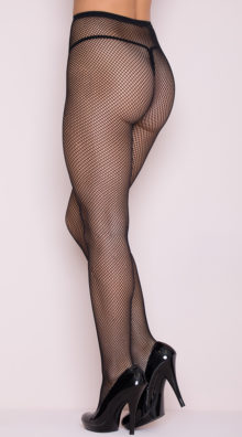 Photo of Classic Seamless Fishnet Pantyhose @EX4.NL Exclusive Lingerie