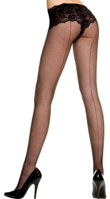 Photo of Fishnet Pantyhose With Backseam @EX4.NL Exclusive Lingerie