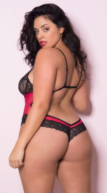 Photo of Plus Size If You Dare Teddy @EX4.NL Exclusive Lingerie