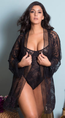 Photo of Plus Size Chantal Daring Teddy @EX4.NL Exclusive Lingerie