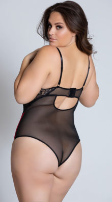 Photo of Plus Size All Wrapped Up Teddy @EX4.NL Exclusive Lingerie