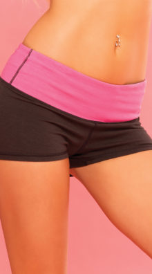 Photo of Strike A Pose Yoga Short @EX4.NL Exclusive Lingerie