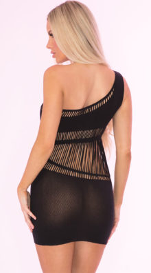 Photo of Dare You One Shoulder Dress @EX4.NL Exclusive Lingerie