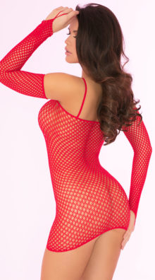 Photo of Bad Intentions Fishnet Dress @EX4.NL Exclusive Lingerie