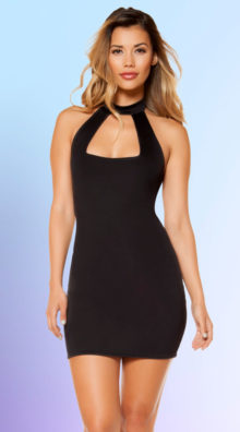 Photo of Eye-Catching High Neck Dress @EX4.NL Exclusive Lingerie