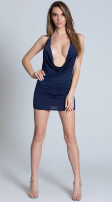 Photo of Can't Be Tamed Navy Mini Dress @EX4.NL Exclusive Lingerie