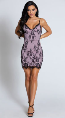 Photo of Rooftop Rendezview Lace Dress @EX4.NL Exclusive Lingerie