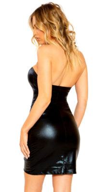Photo of Hot Whispers Wet Look Dress @EX4.NL Exclusive Lingerie