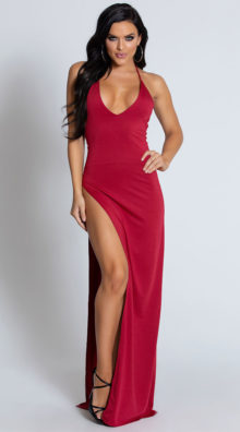 Photo of Hot Tamale Halter Gown @EX4.NL Exclusive Lingerie
