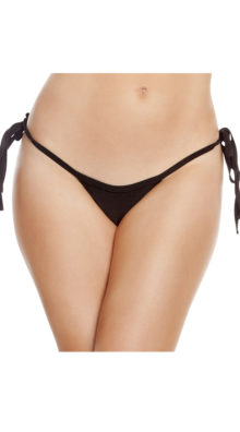 Photo of Low Rise Tie SideThong @EX4.NL Exclusive Lingerie