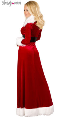 Photo of Sexy Miss Claus Robe Set @EX4.NL Exclusive Lingerie