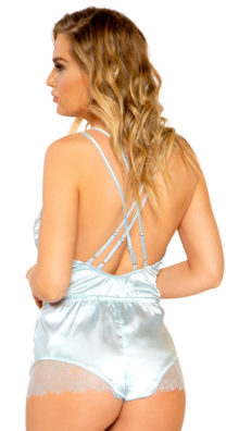 Photo of Sexy Slumber Lace Romper @EX4.NL Exclusive Lingerie