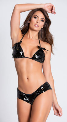 Photo of Sequin Tri Top and Panty @EX4.NL Exclusive Lingerie