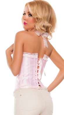 Photo of Girly Baby Pink Corset @EX4.NL Exclusive Lingerie