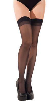 Photo of Sheer Cuban Heel Thigh-highs @EX4.NL Exclusive Lingerie