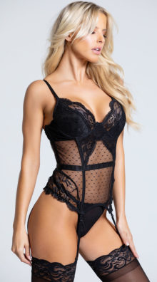 Photo of Midnight Dreams Bustier Set @EX4.NL Exclusive Lingerie