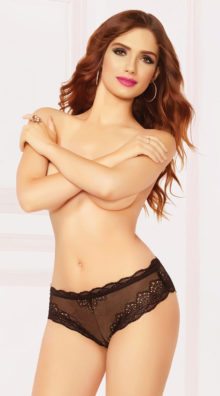Photo of Laced Up High Waisted Panty @EX4.NL Exclusive Lingerie