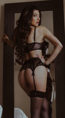 Photo of On Point Mesh and Lace Bra Set @EX4.NL Exclusive Lingerie