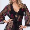 Photo of Florally Yours Robe @EX4.NL Exclusive Lingerie