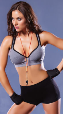 Photo of Push-Up Fence Mesh Sports Bra @EX4.NL Exclusive Lingerie